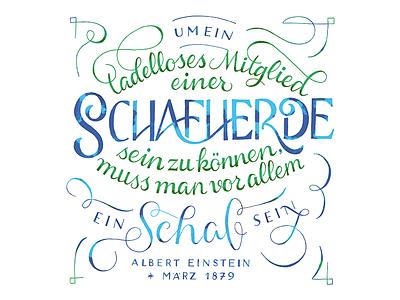 Kalender 2017 / März lettering