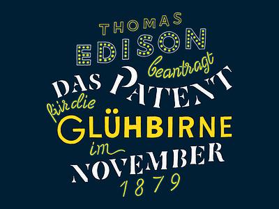 Kalender 2017 / November lettering