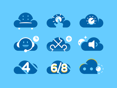 Cloud Icons icons cloud