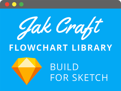 Jak Craft Flowchart Library process template workflow sitemap prototyp wireframe flowchart library sketch