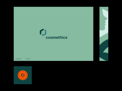 Cosmethics — Beauty w/o breaking the bank naturalistic natural cosmetics branding logo inspiration