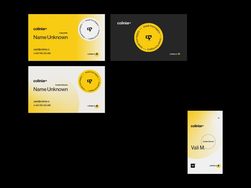 Coliniar — Digital & Human clean agency business identity coliniar