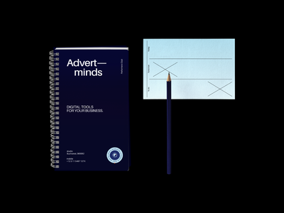 Advert—minds stationery