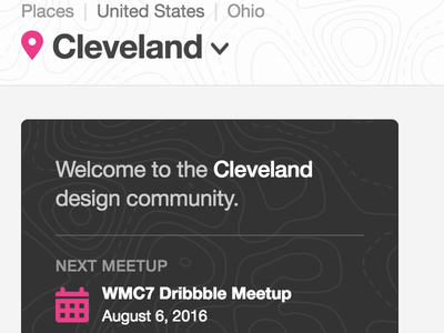 Hello, Cleveland! cleveland lebron spinal tap product places dribbble