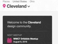 Hello, Cleveland!