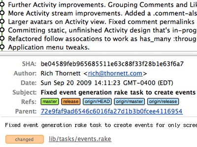 Quickie Patch dribbble patches git activity