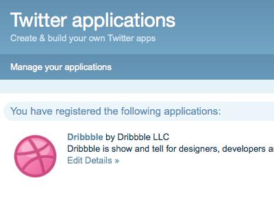 Twitter Me This dribbble twitter twitter apps