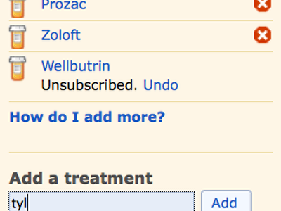 Not Your Father's Following patientslikeme following subscriptions treatments activity
