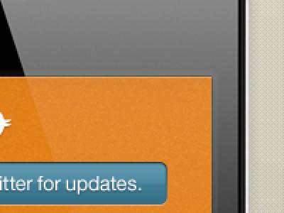 Details pattern orange blue iphone twitter button texture helvetica neue