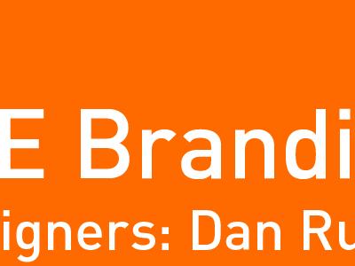 client presentation cover orange din white