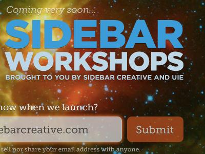 Coming very soon... sidebar gotham css3 rgba box-shadow museo slab
