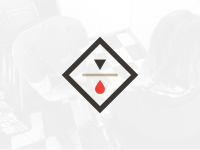 Logo Mark drop triangle diamond branding brand tattoo logo