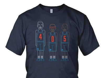 4 0 5 victor oladipo russell westbrook nick collison basketball prnt 405 thunder