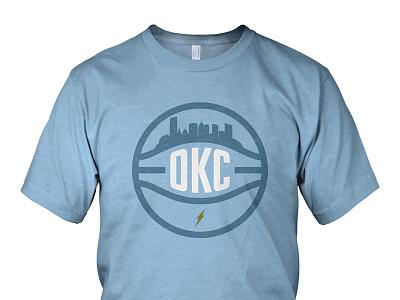 OKC Skyline okc skyline oklahoma city basketball thunder okc