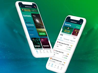 Mondogoal App app design case study ui design
