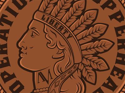 AMS Copperhead Patch Design patch design