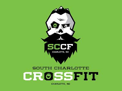 South Charlotte CrossFit Brand Concept identity logo brand