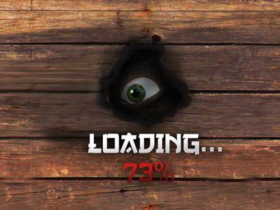 Kung Fu Panda World - Loading Screen loading screen loading animation wood