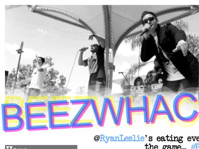 BeezWhacks - Home Feature music beezwhacks blog black and white