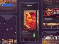 Diageo Barhunter App concept