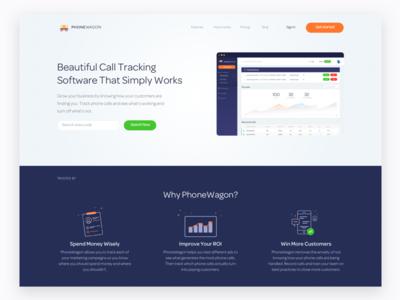 PhoneWagon Homepage