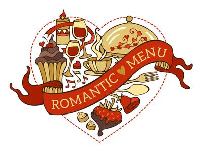 Romantic menu
