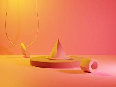 3D shapes and aesthetic