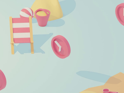 Deadlines before summer after effects design motion design abstract blender animated gif 3d animation