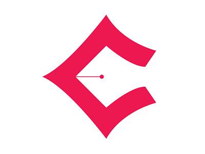 Pen C Monogram rebound c monogram red