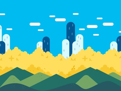 Valley valley vector landscape flat