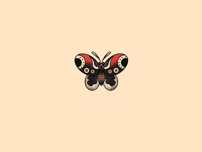 Butterfly illustration vector tattoo butterfly