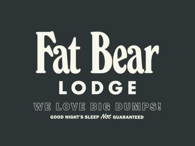 Fat Bear Lodge bear tahoe cabin