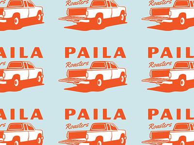 Paila Coffee WIP honduras coffee bag truck coffee brand coffee