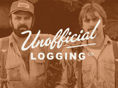 Unofficial Logging Co. primary mark