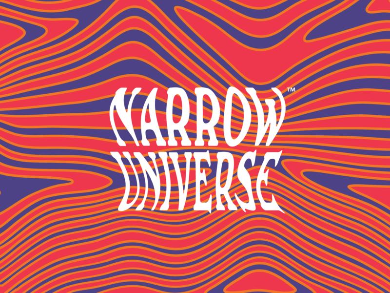 Narrow Universe West Coast IPA psychedelic trippy funk beer branding beer