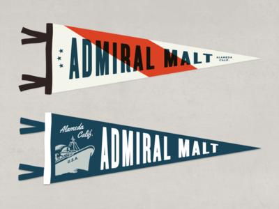 Admiral Pennants