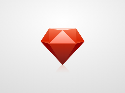 Ruby gem ruby gem red icon vector .sketch