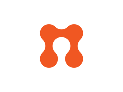 Made for Interaction logo logo brand mark orange