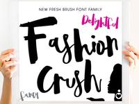 Fashion Crush Font Family