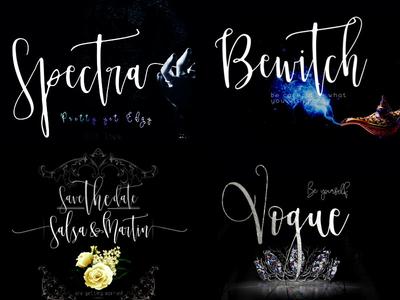 Spectra font family by mycandythemes dribbble