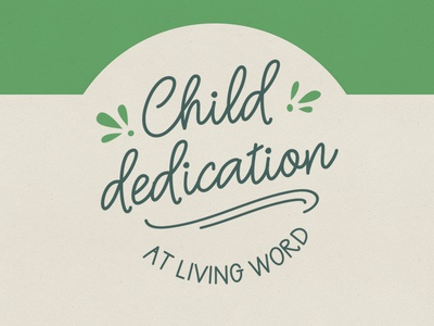 Child Dedication || Insignia