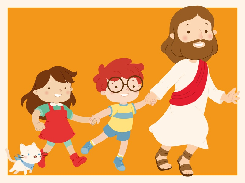 Catechism Book Characters flat design children childrens illustration childrens book kids book kids children book illustration character design book character design small eyes adobe illustrator vector art vector illustration digital illustration