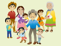 Mexican Family 6