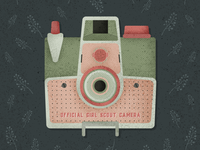 Official Girl Scout Camera Green