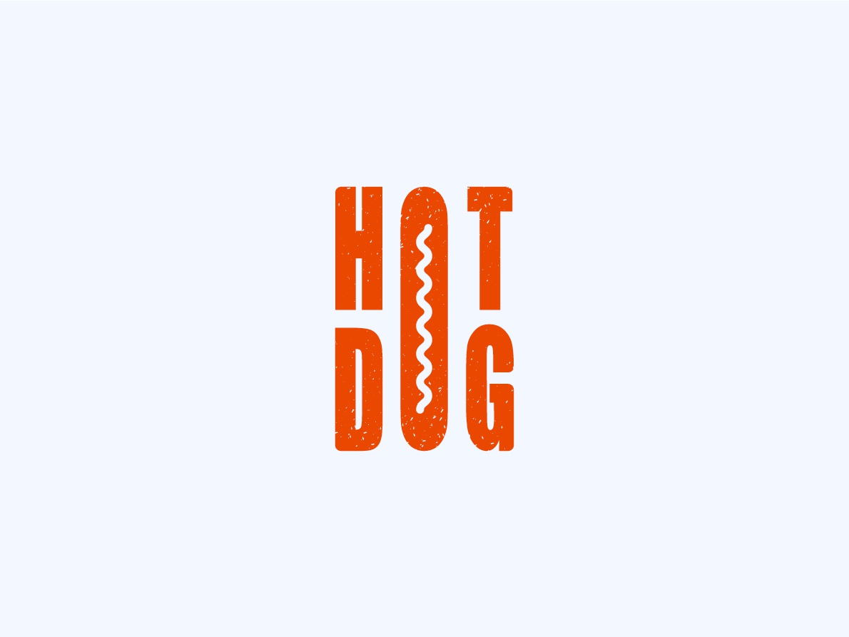hot dog graphicdesign graphic design color graphics graphic font foodie food hotdog logo design logodesign logotype logo