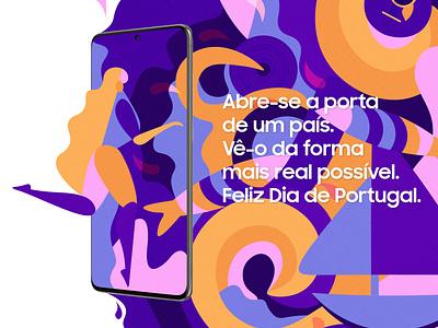 Samsung's Magic Door portugal day door magic colorful art samsung color illustration design digital art digital artwork