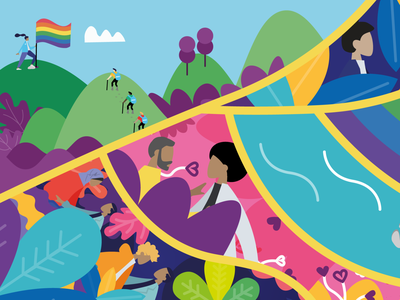 Amsterdam Pride 2019 colorful art artwork print art print design color illustration digital art digital artwork graphic design