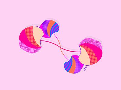 Big Apple(s) pop art artwork colorful procreate apple
