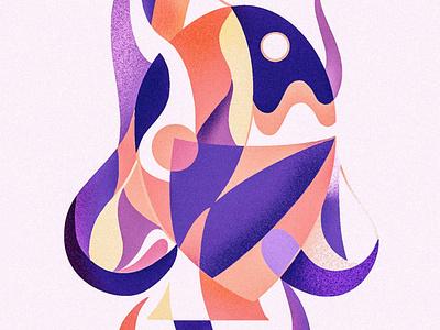 Voice - Our Planet Week digital art pop art design sustainability artivism colorful illustration procreate art face illustration digital artwork