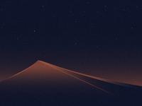 The Desert at Night